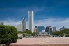 芝加哥地平线 图库摄影