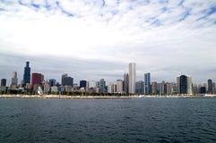 芝加哥地平线 库存照片