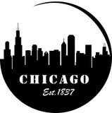 芝加哥地平线 库存图片