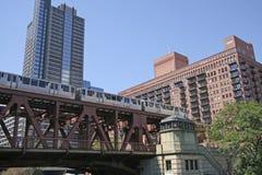 芝加哥地铁 免版税库存图片