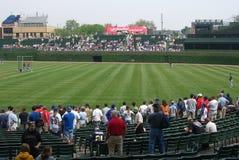 芝加哥域里格利 库存图片