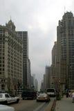 芝加哥壮观的英里 图库摄影