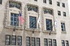芝加哥市政厅大厦 库存照片