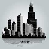 芝加哥市 免版税图库摄影