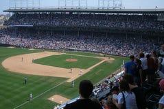 芝加哥当幼童军域里格利 免版税库存照片
