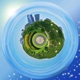 芝加哥授予公园行星 免版税库存图片