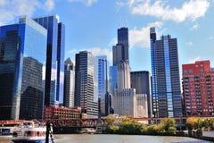芝加哥摩天大楼 免版税库存图片
