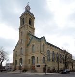芝加哥教会 免版税库存照片