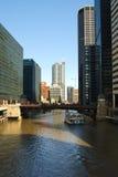 芝加哥旅游业 免版税库存照片