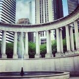 芝加哥曲拱 库存图片