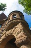 芝加哥有历史的家 免版税库存图片