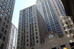 芝加哥期货交易所大厦,芝加哥 库存图片