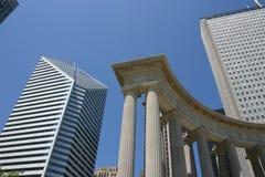 芝加哥柱子 免版税库存照片