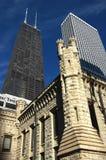 芝加哥汉考克塔 库存照片