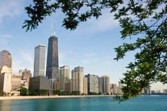 芝加哥江边 库存图片