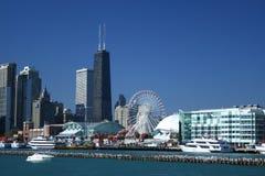 芝加哥海军码头 免版税图库摄影