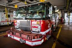 芝加哥消防车 库存照片