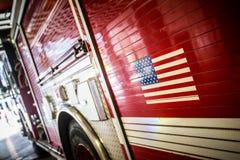 芝加哥消防车 免版税库存图片