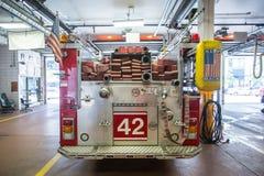 芝加哥消防车 图库摄影