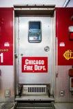 芝加哥消防车 免版税图库摄影