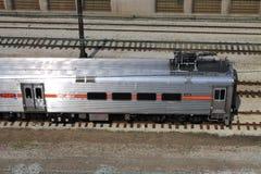 芝加哥火车 免版税库存照片