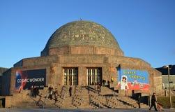 芝加哥的爱德乐天文馆 免版税库存图片