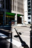 芝加哥的阴影 图库摄影