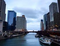 芝加哥秀丽  免版税图库摄影