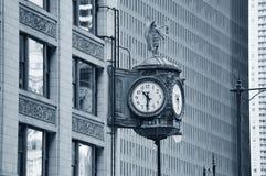 芝加哥街市街道视图 免版税库存图片