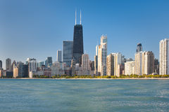 芝加哥视图 免版税库存照片