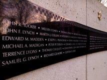 芝加哥警察局` s纪念牺牲空间 库存照片