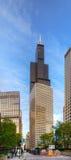 芝加哥都市风景有Willis塔的(西尔斯大楼) 免版税图库摄影