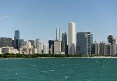 芝加哥都市风景 芝加哥摩天大楼 免版税库存照片