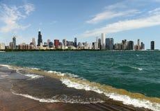 芝加哥都市风景 芝加哥摩天大楼 库存照片