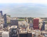 芝加哥都市风景 免版税库存照片