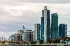 芝加哥高层建筑物 免版税库存照片