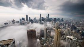 芝加哥,伊利诺伊,美国地平线 股票视频
