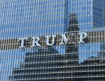 芝加哥,美国- 2018年6月04日:王牌国际饭店&塔 免版税库存图片