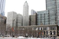 芝加哥, Il建筑学  免版税库存图片