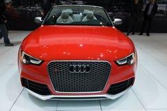 在芝加哥车展的Audi 库存照片