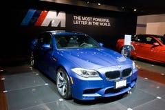 在芝加哥车展的BMW 免版税图库摄影
