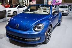 在芝加哥车展的VW 免版税图库摄影