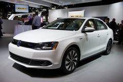 在芝加哥车展的VW 免版税库存图片