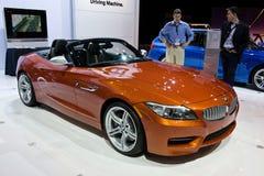 在芝加哥展示的BMW 免版税库存图片