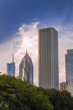芝加哥结构 免版税库存图片