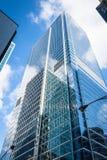 芝加哥玻璃和stel 免版税图库摄影