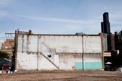 芝加哥Banksy儿童车 库存照片