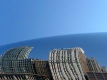 芝加哥cloudgate 库存照片