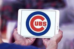 芝加哥Cub棒球队商标 库存照片