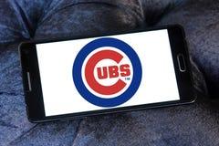 芝加哥Cub棒球队商标 库存图片